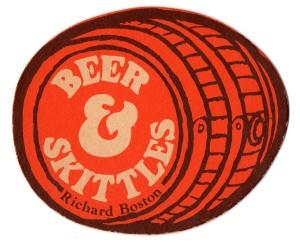 Beer&Skittles beermat
