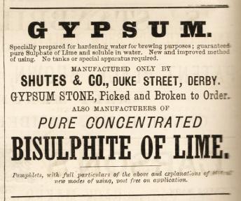 gypsum ad 1881
