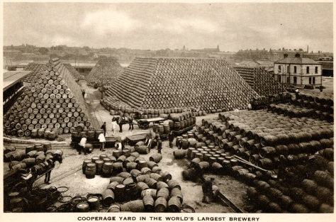Guinness cooperage yard