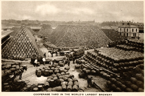 Guinness cooperage yard