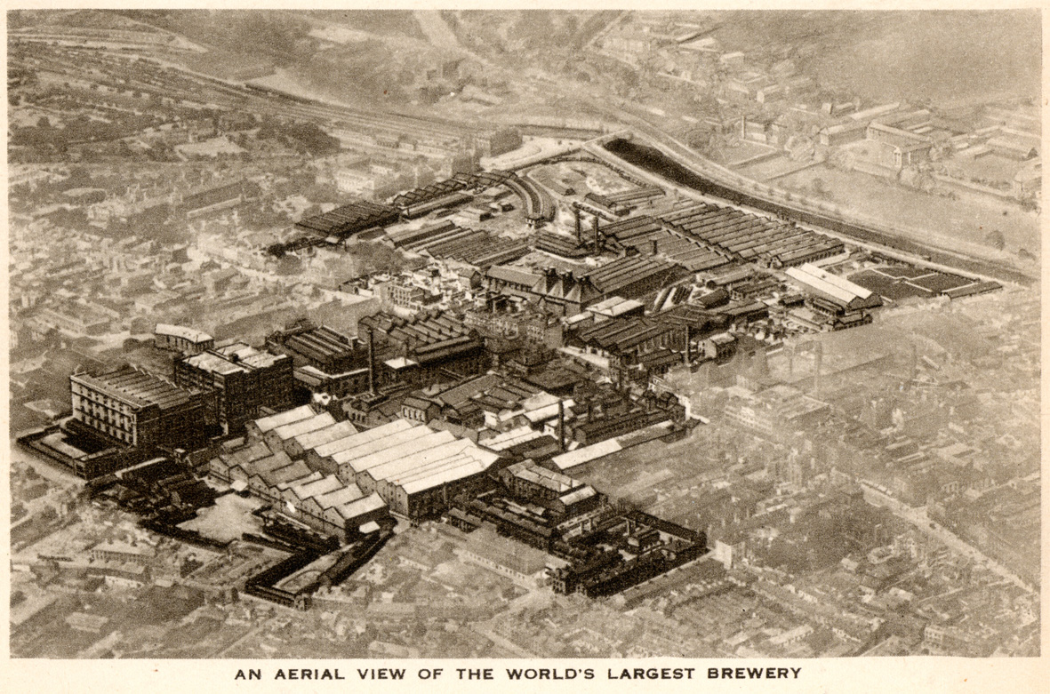 Guinness from the air 1939