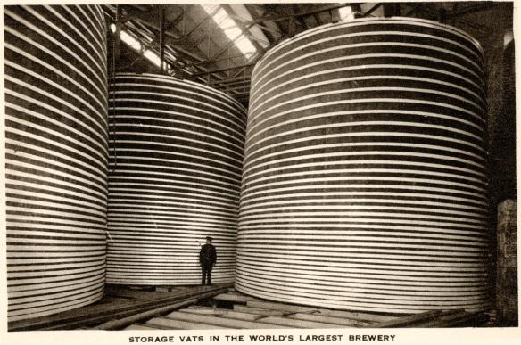 Storage vats Guinness 1939