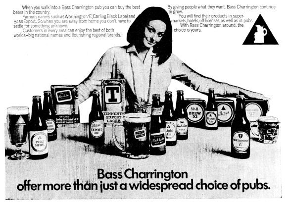 Bass ad 1970