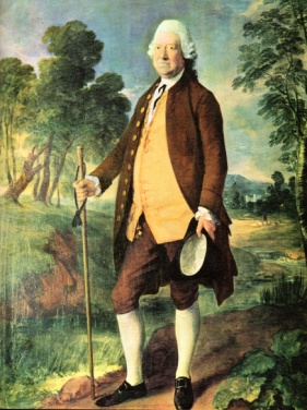 Sikr Benjamin Truman by Thomas Gainsborough