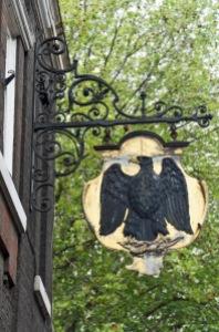 Black Eagle sign