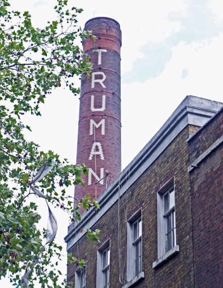 Brewery chimney, Brick Lane