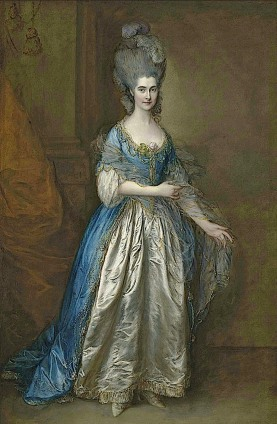 Frances Villebois by Thomas Gainsborough