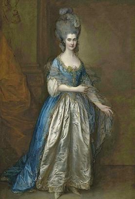 Frances Villebois by Thomas Gainsborough
