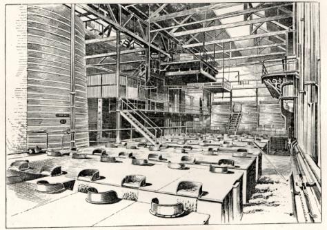 Porter fermentation at Brick Lane