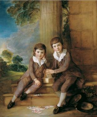 John Truman Villebois and his brother