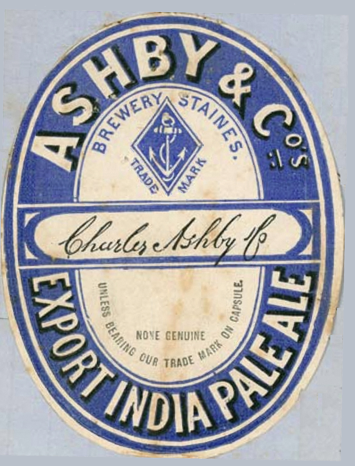 The Earliest Use Of The Term India Pale Ale Was In Australia Zythophile