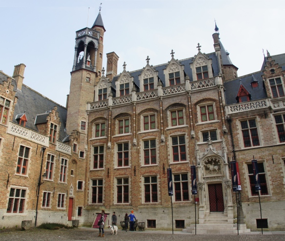 The Gruuthuse in Bruges, built from the proceeds of a monopoly in the herbs that went into beer before hops