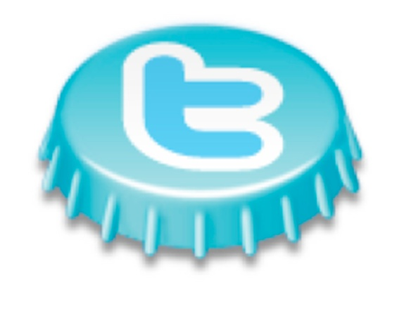 Twitter bottle top