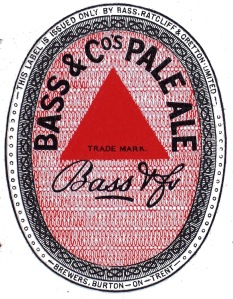 Bass pale ale label