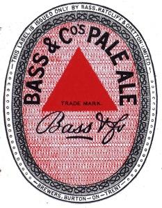 Bass pale ale label