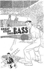 Bass advert from 1930s