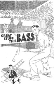 Bass advert from 1930s