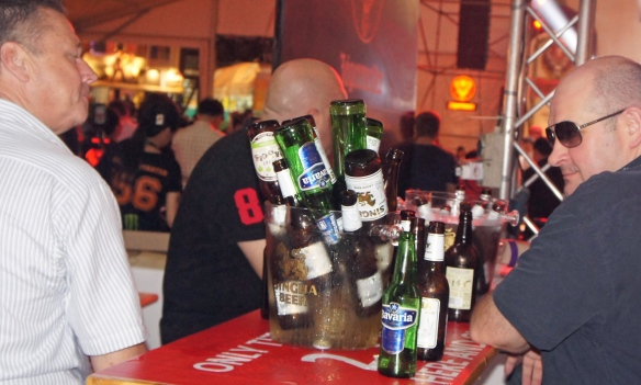Never mind the quality … some people were there for the beer – any beer, so long as it was wet and alcoholic.