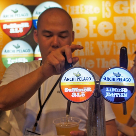 "The local brew: beers by Archipelago, the Heineken-owned Singapore ""craft"" set-up"