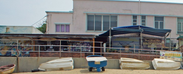 The Back Beach Bar, Shek O – basically a shack-o