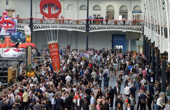 The GBBF crowd
