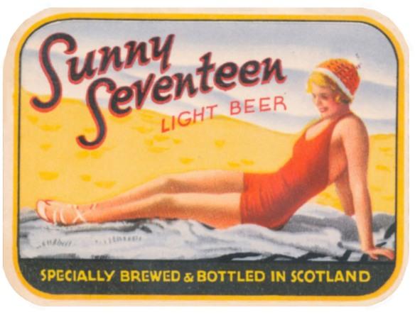 Sunny Seventeen light beer