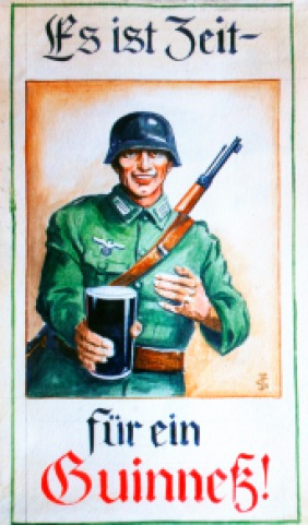 Guinness German soldier