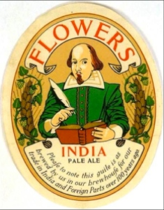 Flowers IPA label