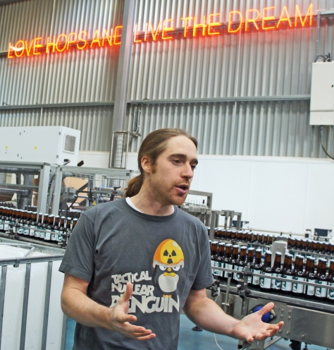 Martin Dickie, beer evangelist, loving hops and living the dream