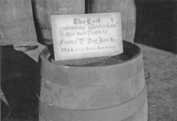 Westerham D-Day cask