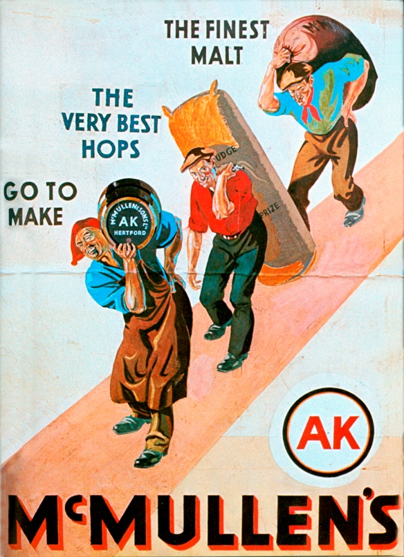 McMullen's AK poster