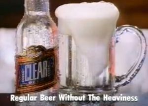 Miller Clear ad