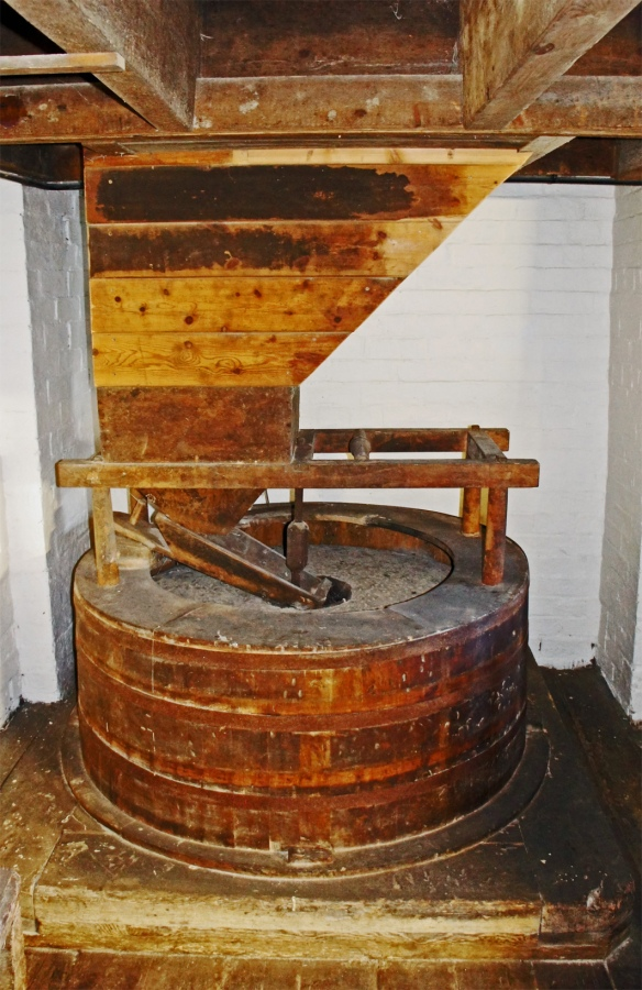 Old grist mill at the Hook Norton brewery