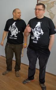 Przemysław Leszczyński and Michał Gref of Browar Profesja