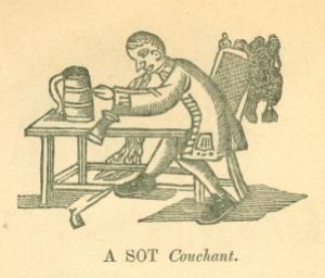 A Sot Couchant